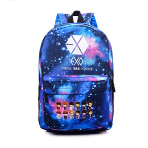 Exo Overdose XOXO Galaxy Canvas Bag