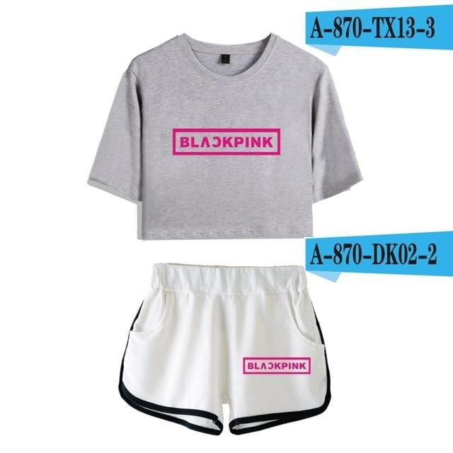 Blackpink Tops+Short set 2 - Hyphoria