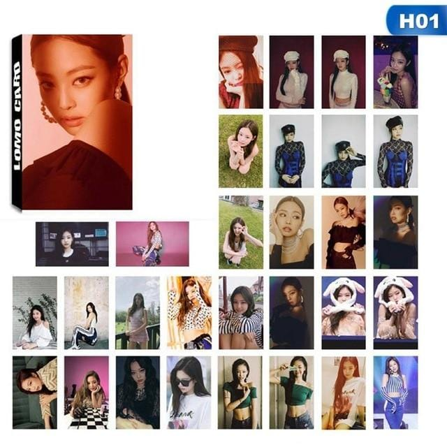 FREE BLACKPINK Lomo Card