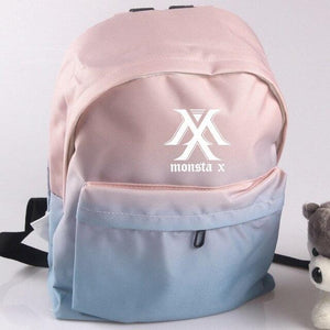 MONSTA X Gradient Canvas Backpack