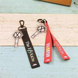 EXO The EℓyXiOn Concert Lanyard Keychain
