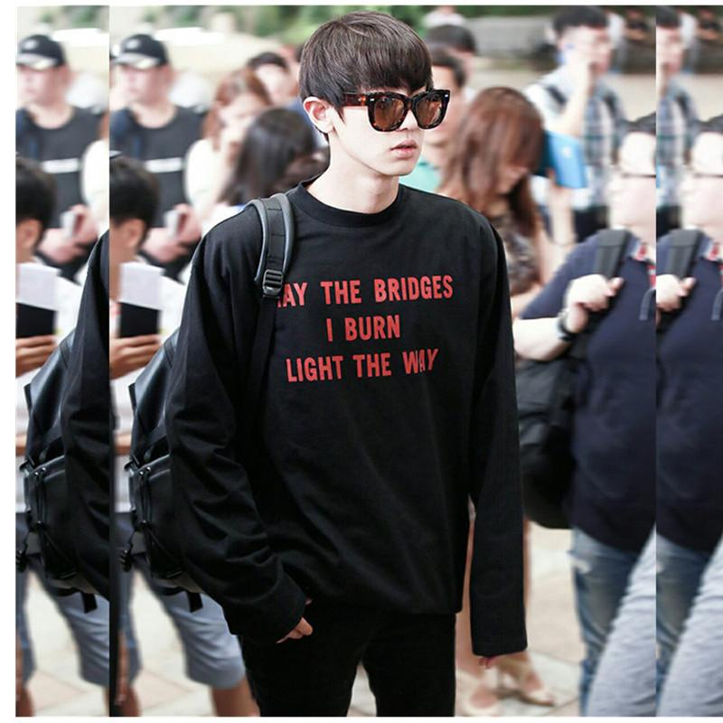 EXO Chanyeol Airport Sweatshirt