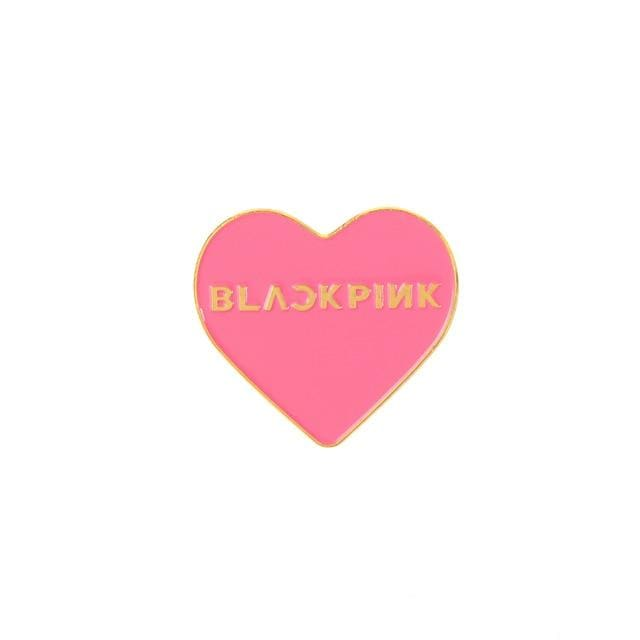KPOP Logo Badge Pin