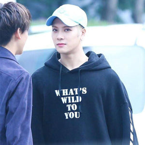 "Got7 Jackson ""WHAT'S A WILD TO YOU"" Hoodie"