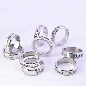Red Velvet / Straykids Finger Rings
