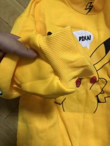 Pokemon Pikachu Sweatshirts and Tshirt