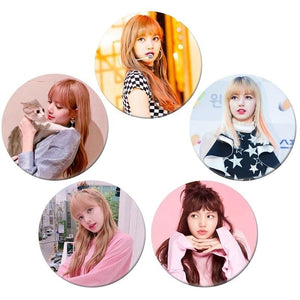 Free Blackpink Button Pins V3