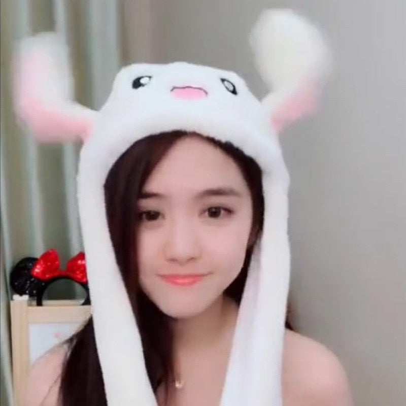 Bunny Hat with Moving Ears - Hyphoria