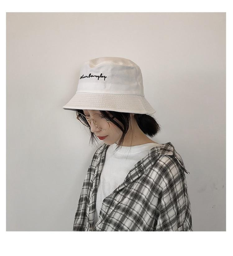 Harajuku Graffiti Kpop Bucket Hat