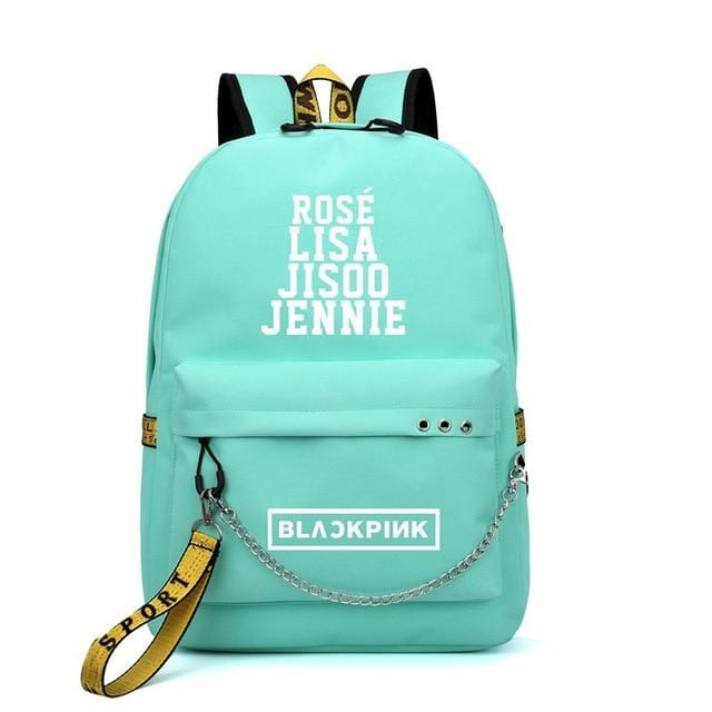 Blackpink Rose Lisa Jennie USB Backpack
