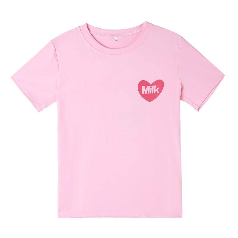 Kpop Kawaii Milk Box T-shirts