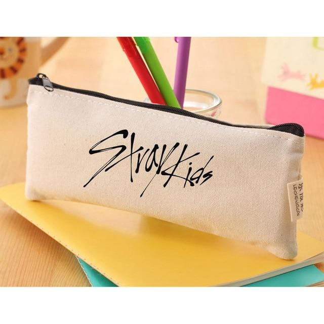 Stray Kids Canvas Pencil Case