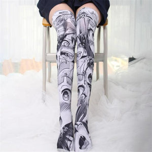 Thigh High Sock Anime