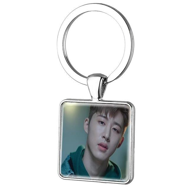 IKON Square Shape Key Ring