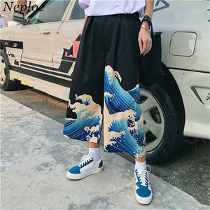 Summer Japanese Loose Trousers for Women