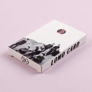 Free EXO Lomo Card Set