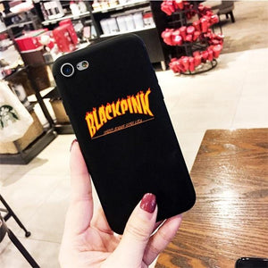 Blackpink Kill This Love Silicone Phone Case for iPhone