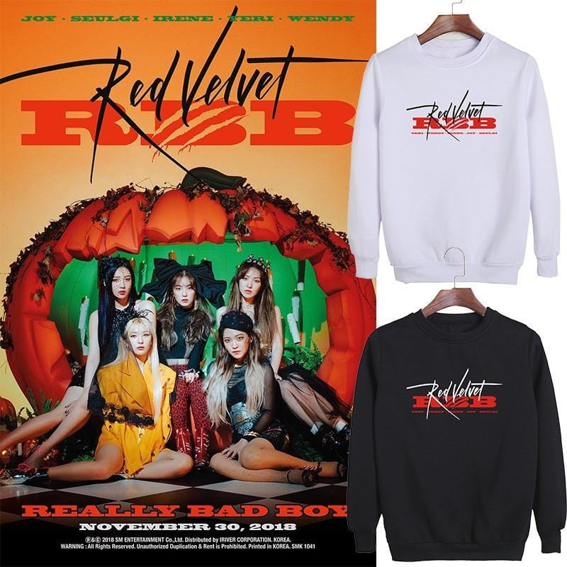 Red Velvet RBB Really Bad Boy Sweatshirt
