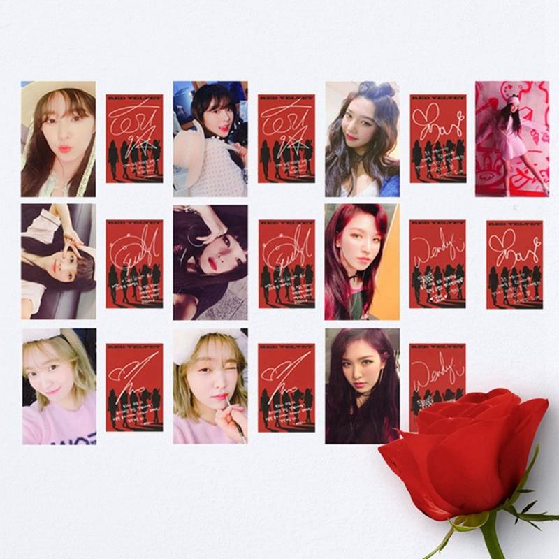Free Red Velvet Bad Boy Photo Card