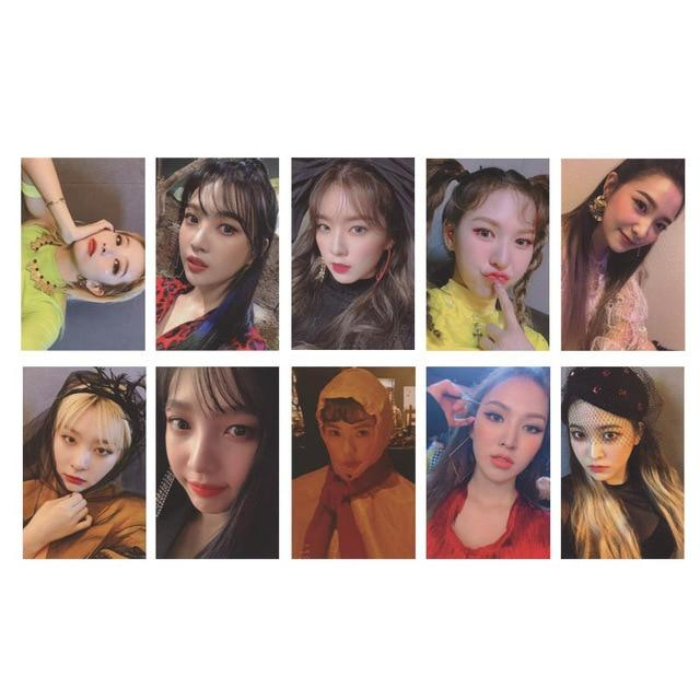 Red Velvet Mini Album RBB Autograph Photocards -  10Pc Set