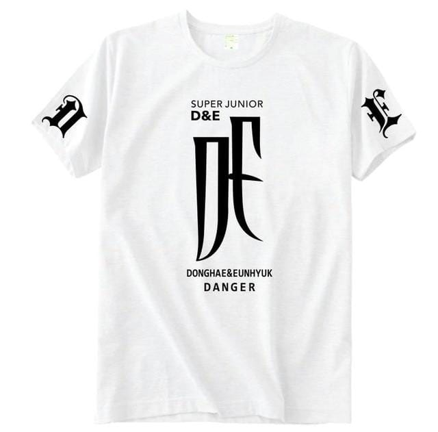 Super Junior D&E Album Danger T-Shirt