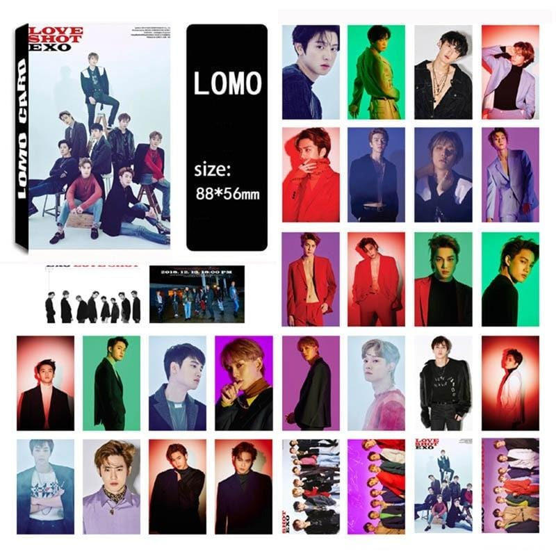 FREE EXO Album HD Photo Cards