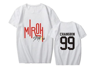 Stray Kids MIROH Album T-shirt