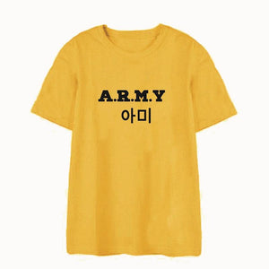 BTS A.R.M.Y. Graphic T-Shirt