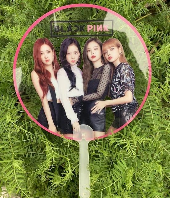 BLACKPINK JENNIE JISOO LISA ROSE Clear Concert Fan