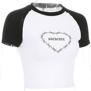 Angela Casual Crop Top