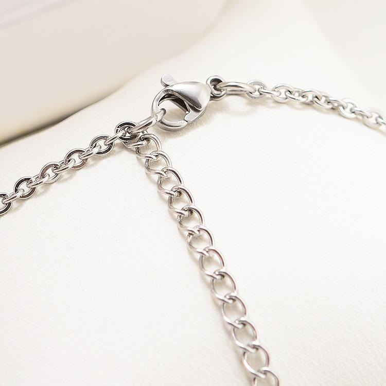 Twice Stainless Steel Pendant Necklace