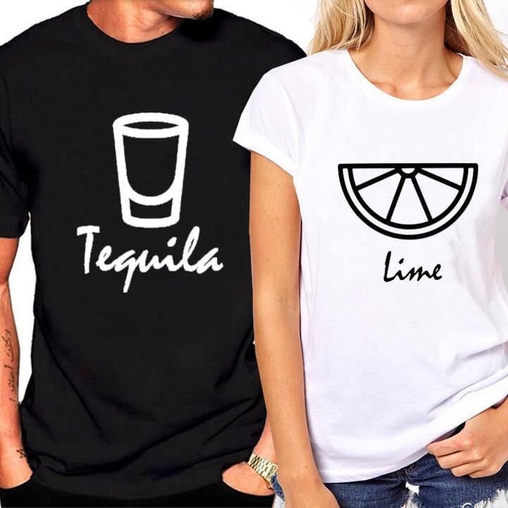You're the Lime to My Tequila Couple T-shirt