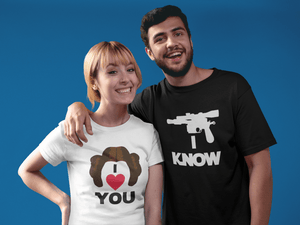 I Love You - I Know Couple Shirt