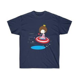 Captain America and Lover Matching Couple T-shirt