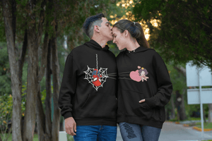 Spiderman Lover Matching Couple Hoodie