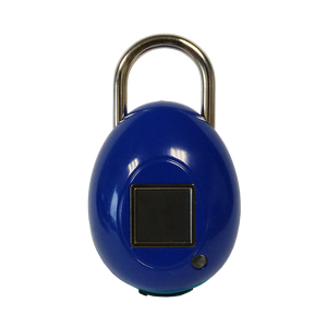 Smart lock designed for keyless security using fingerprint to access connected device