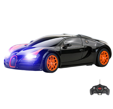 1:18 Licensed Bugatti Veyron Grand Sport Vitesse RC Car with Lights, PL9129