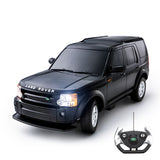 1:14 Licensed Land Rover Discovery 3 RC Car with Lights, Black 40Mhz / Silver 27Mhz - PL9337