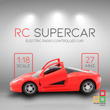 Playtech Logic Ferrari RC Car with opening doors