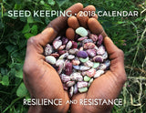 2018 Seed Keeping Calendar - front cover