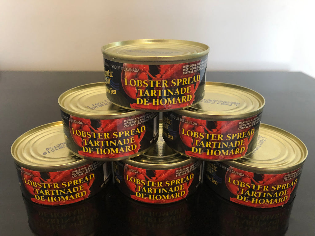 Lobster Spread (Paste/Pate) - 2.5 oz. - 6 Cans