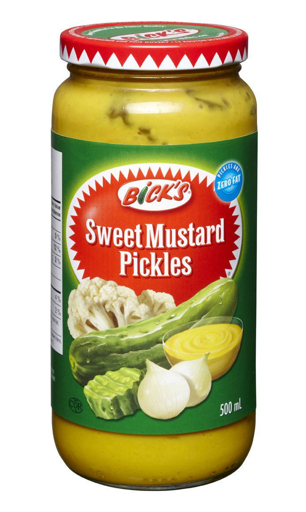 Bick's Sweet Mustard Pickles - 500 ml