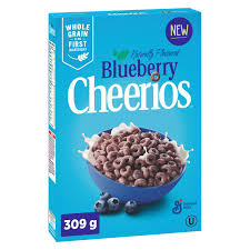 Cheerios Blueberry Cereal - 309g