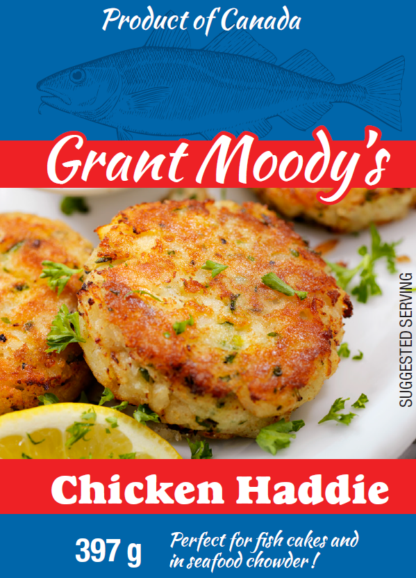 Grant Moody's Chicken Haddie - 397g/14 oz Can