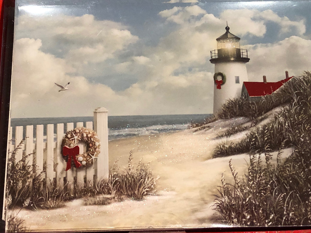Christmas Cards - Lighthouse Christmas - ONLY 2 LEFT!