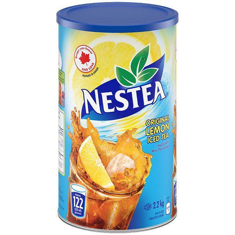Nestea Lemon Iced Tea Mix - 2.2 Kg - CanadianCatalog