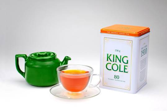 King Cole Tea Collector Tin - 80 bags
