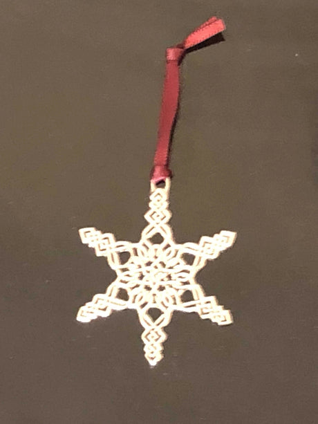 Pewter Ornament - Celtic Snowflake