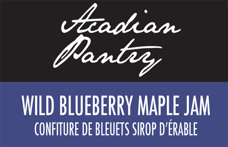 Acadian Pantry Wild Blueberry Maple Jam - 250 ml