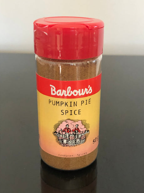 Barbours Pumpkin Pie Spice  50 g - NEW PRODUCT!